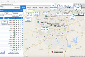 Milo GPS: Tracking Page
