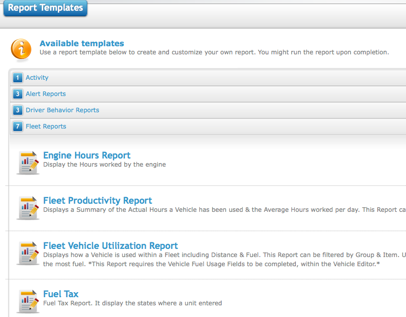 How to setup a mileage by state report template milo fleet fleets report maxwellsz