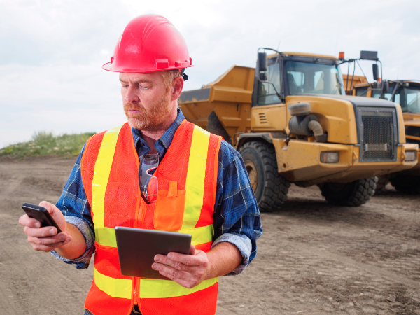 GPS construction tracking