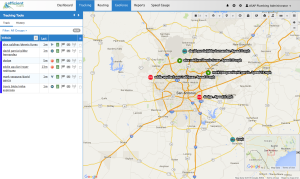 GPS Vehicle Tracking Map