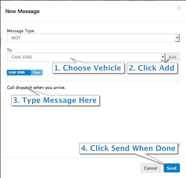 send Garmin message